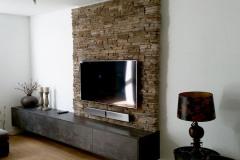 TV wand meubel op maat